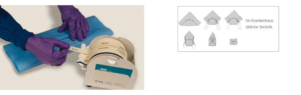 IMS Sterilisations-/Lagervlies - Verpackungstechnik